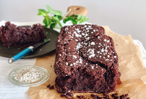 Vegan smeltende brownie