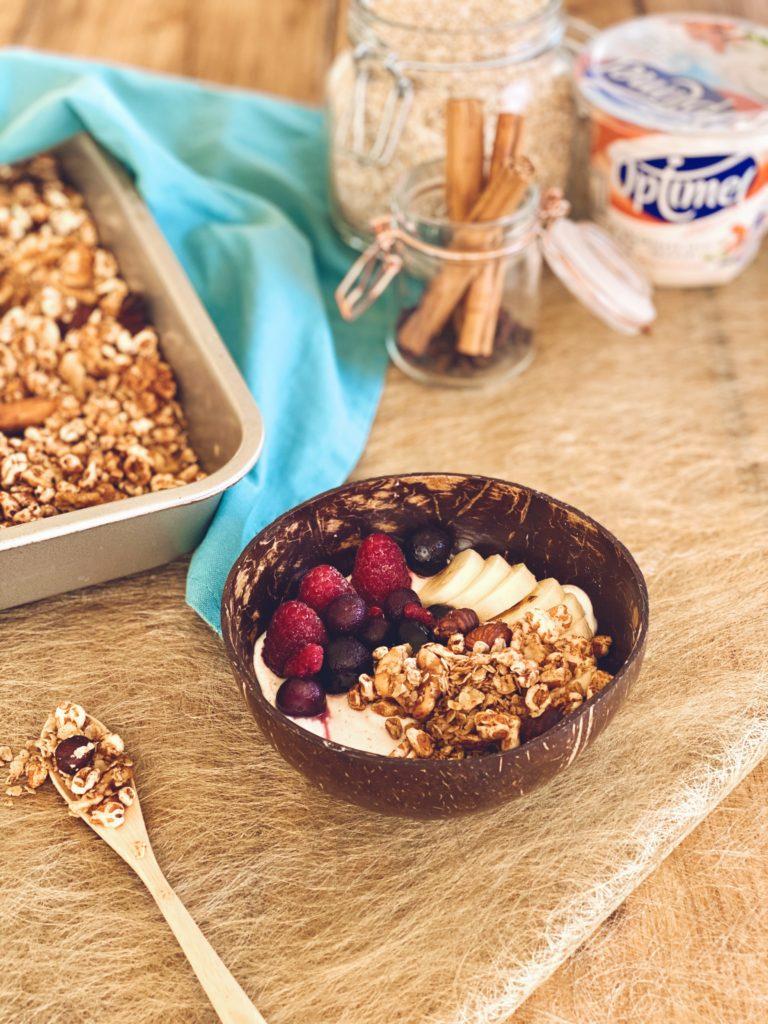 Pumpkin spice granola - zelf granola maken