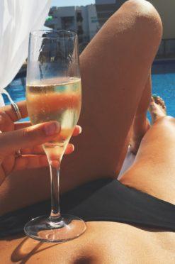 zomerdrankjes hangmat