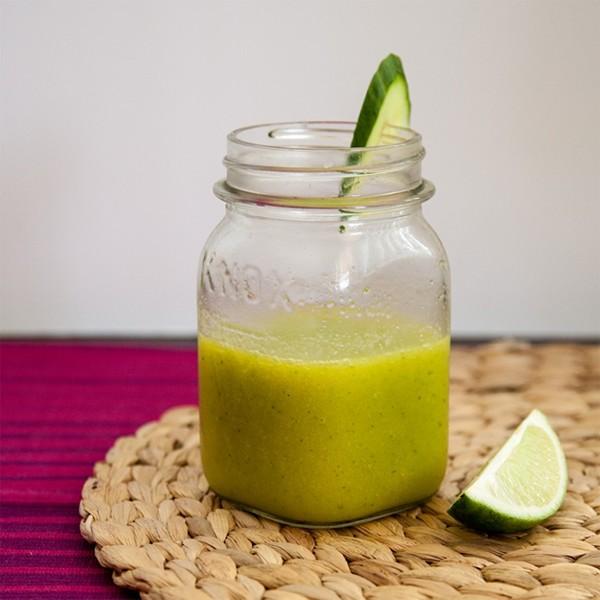 zomerdrankjes mango-komkommersap