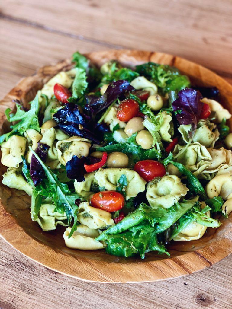 Pastasalade met pestodressing - Koken zonder keuken #1
