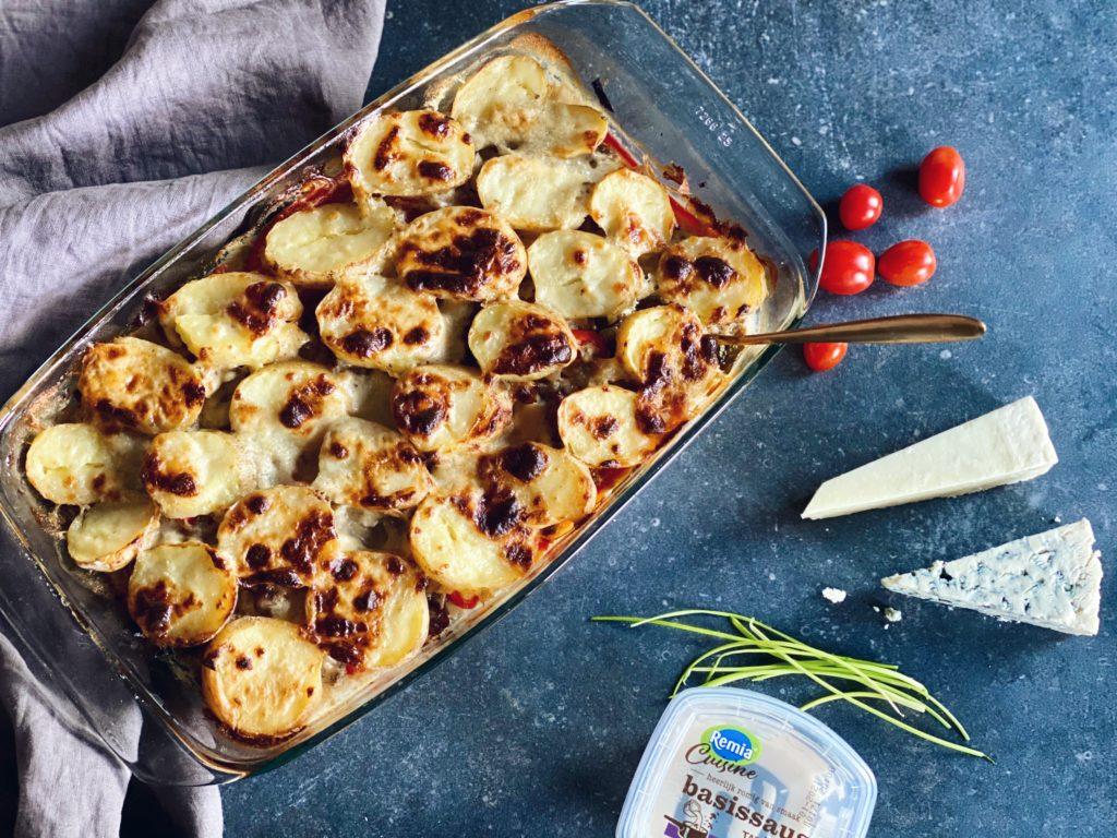 Ovenschotel quattro formaggi: zo maak je zelf kaassaus