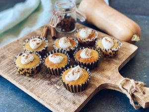 Herfstcakejes met pompoenpuree & five spice | Bakken met 3-in-1 oven