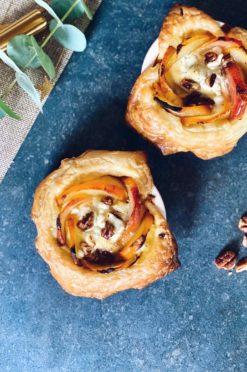 Mini-quiches met biet en geitenkaas - 3-in-1-oven
