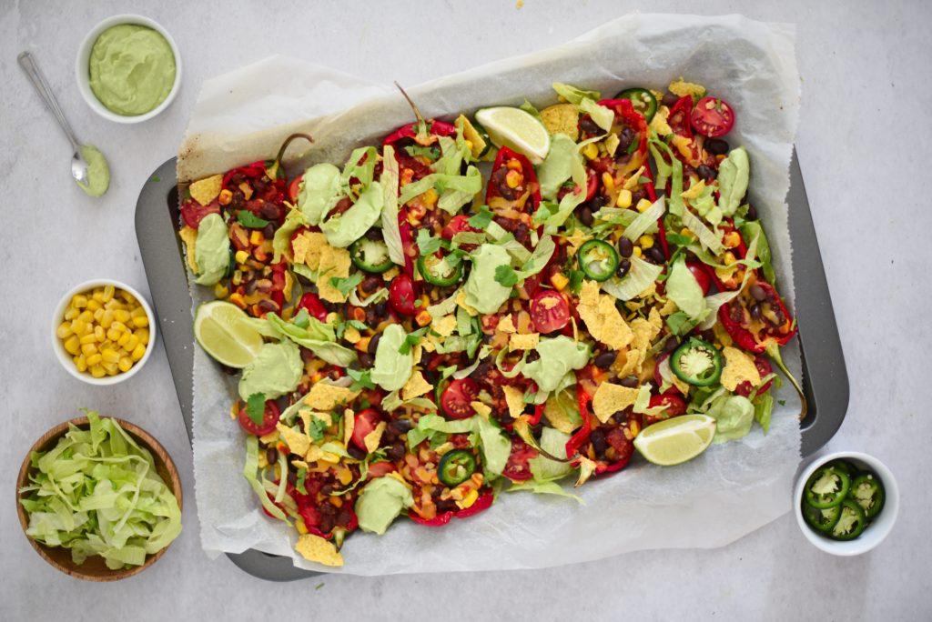 nacho ovenschotel paprika