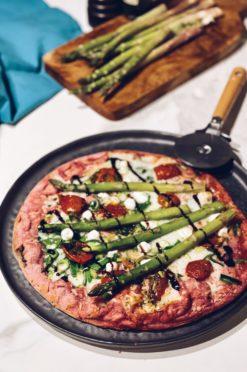 roze pizza