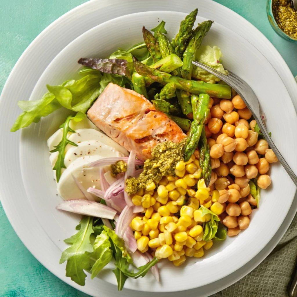 zalm bowl asperge