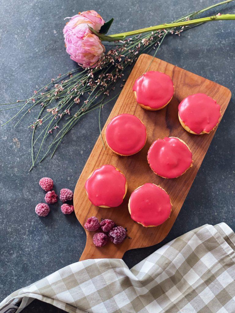maak zelf roze koeken