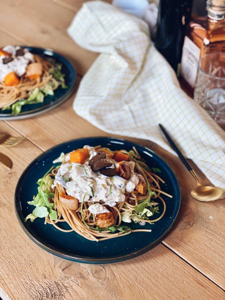 Truffelpasta: spaghetti