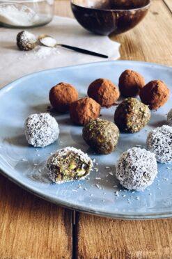 Dadel-pistache-balletjes | rauw & glutenvrij