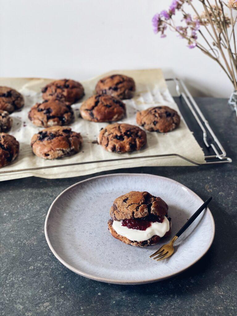Vegan scones bessen