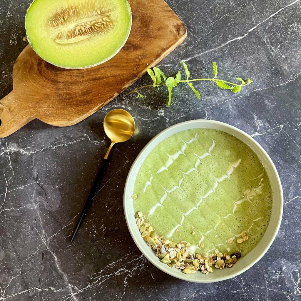 Meloen soep smoothie