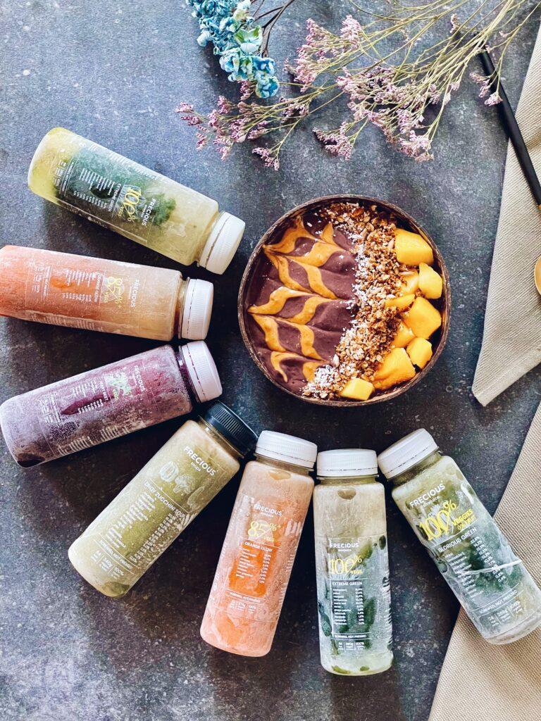 Frecious juices