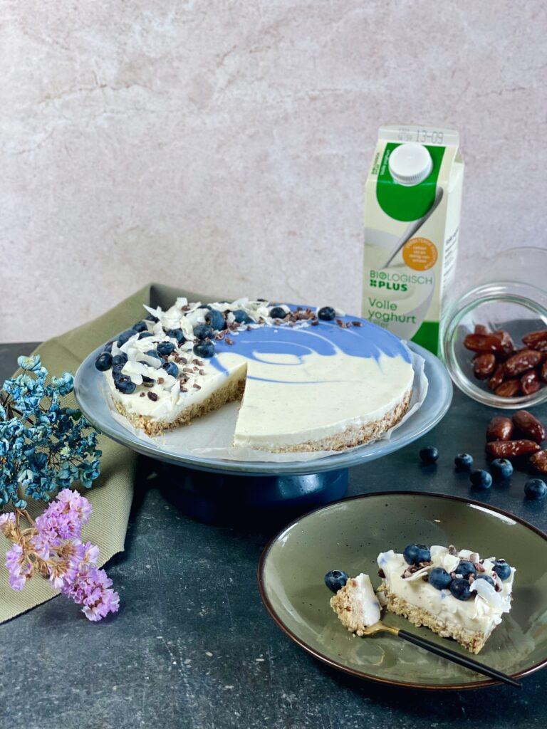 Ontbijttaart met biologische yoghurt van PLUS