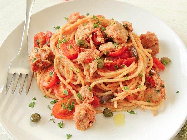 pasta met tonijn