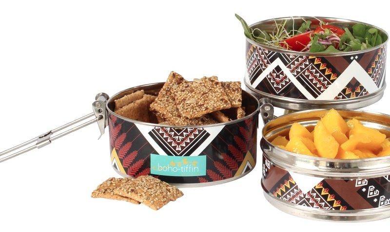 Boho tiffin win foodness