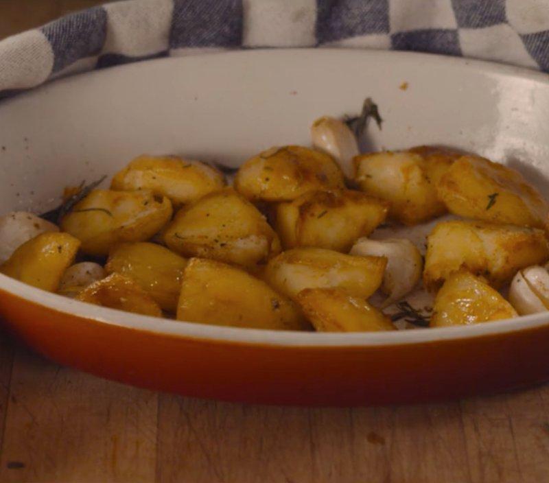 Pieper time: Geroosterde aardappels uit de oven