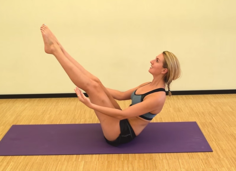 Pilates les 4: Train je core & rugspieren - Foodness.nl