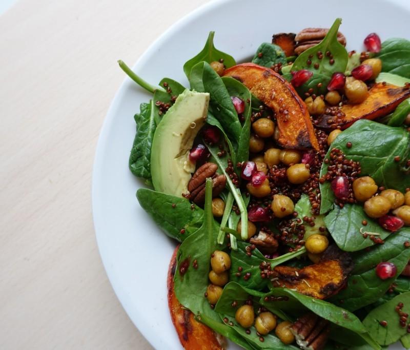 vegan winterse salade