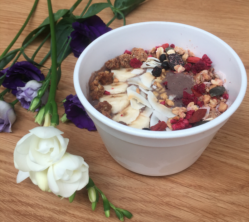 acai bowl pop up foodstand foodness