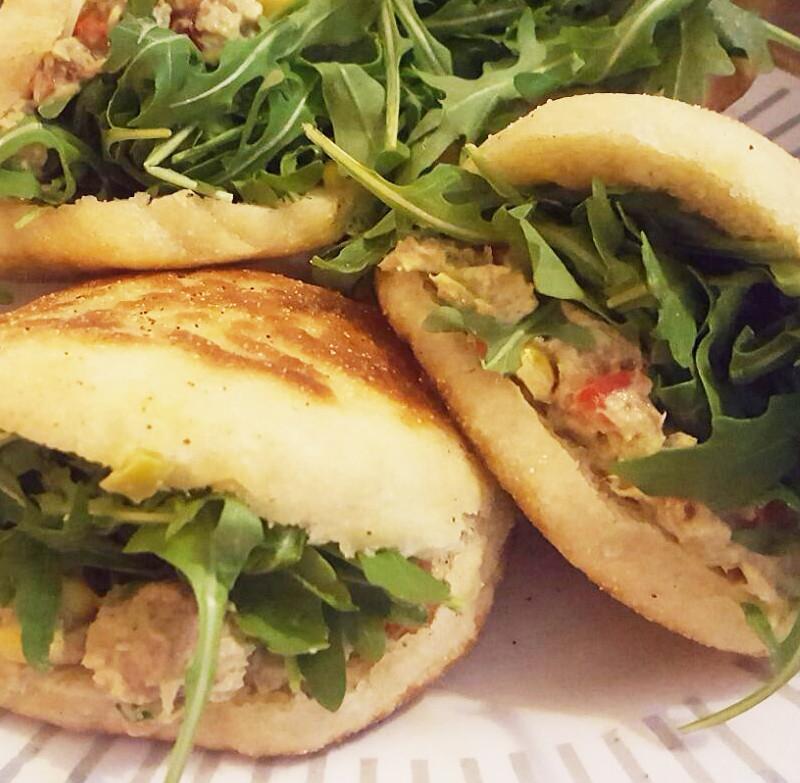 batbot met tonijnsalade