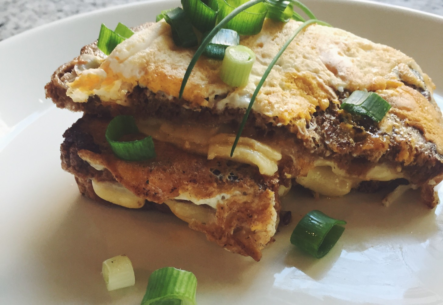 Omelet + tosti = omelosti: Koekenpantosti met ei en kaas