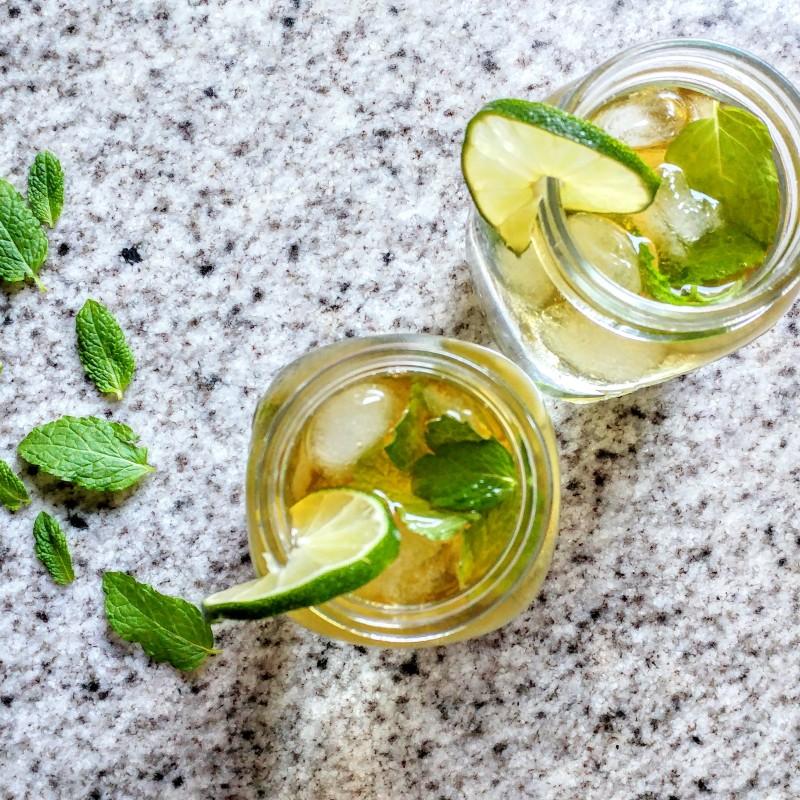 White mojito: Meest makkelijke & slanke rum cocktail ooit