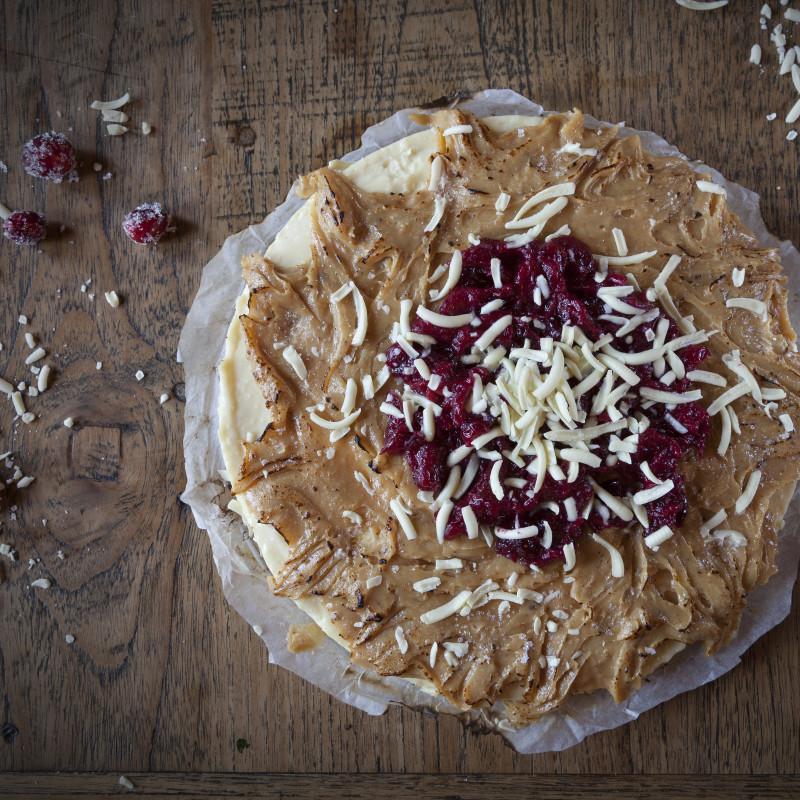 Taartje van Claartje #12: Witte chocolade cheesecake met cranberry | Kenwood Xmas battle