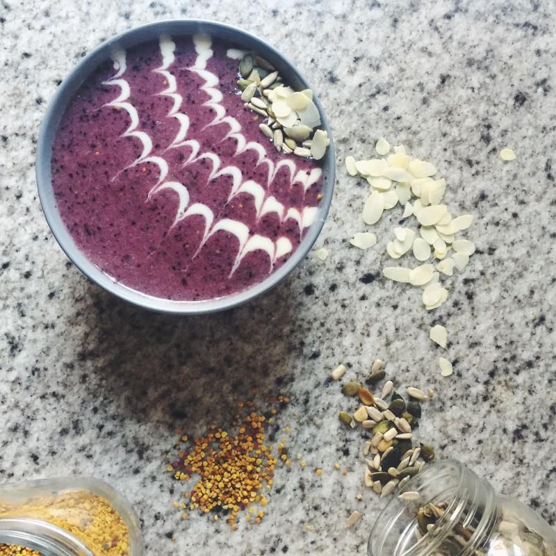 smoothie bowl kenwood chef titanium
