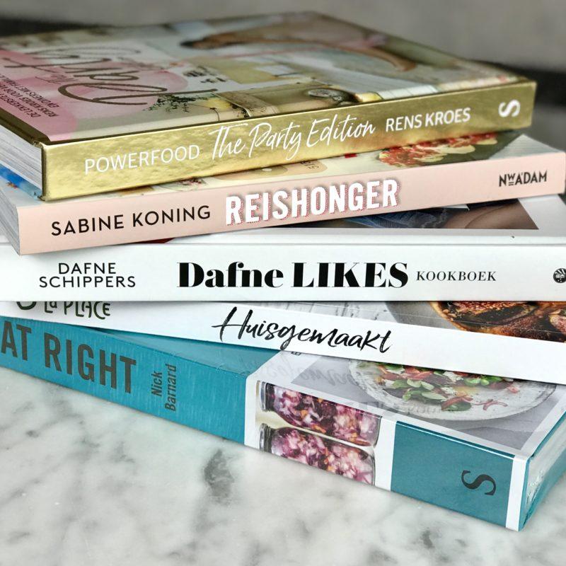 WIN 1 van de 5 kookboeken: Rens Kroes, Reishonger, Dafne Likes