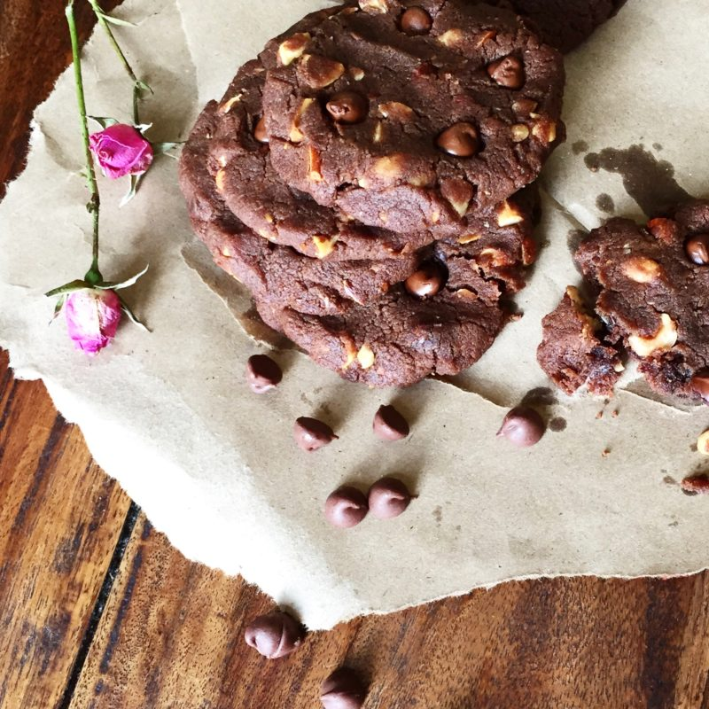 Choco cookie à la Maman NYC - glutenvrije versie met teff meel
